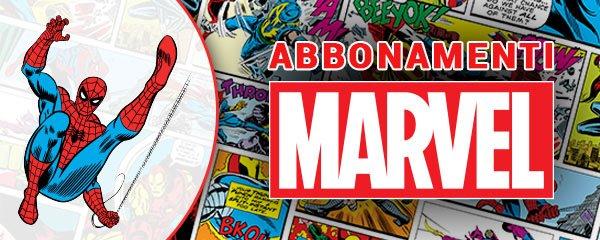 Fumetti Marvel - Abbonamenti panini