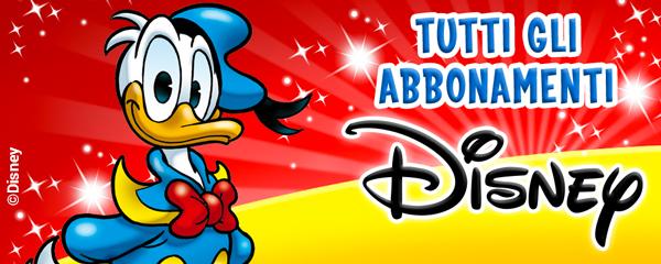 Fumetti e periodici Disney – Abbonamenti Panini
