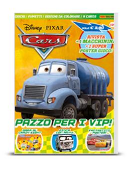 Copertina Disney Pixar Cars