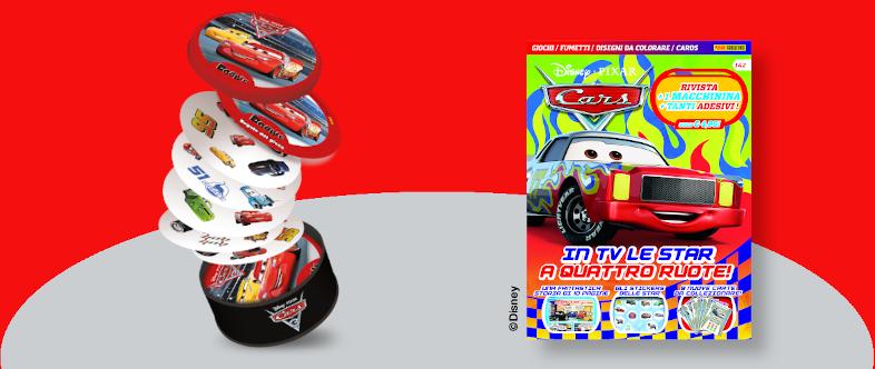 Un anno di Disney Pixar Cars con regalo