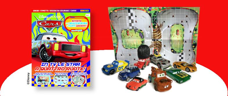 Abbonamento di un anno a Disney Pixar Cars con regalo