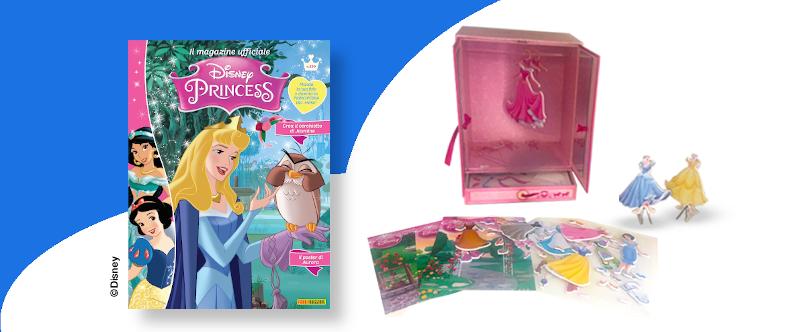 Abbonamento 1 anno a Disney Princess con armadio