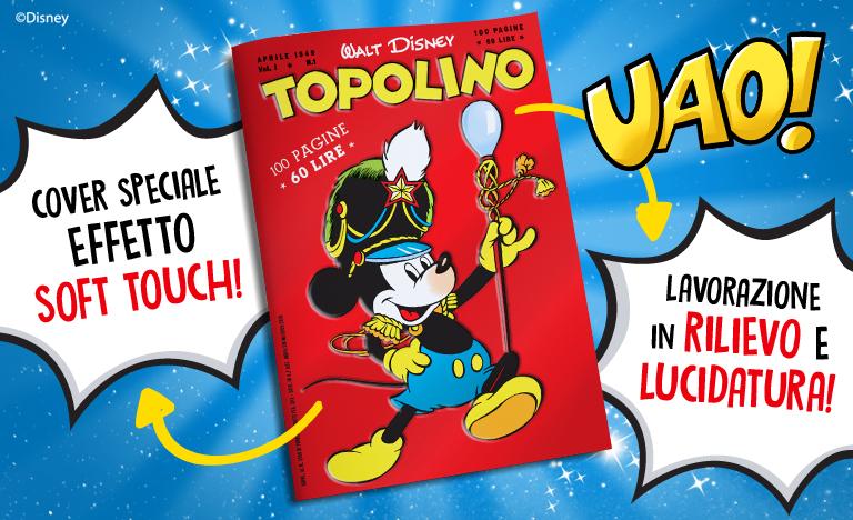 Abbonamento a Topolino con numero 1 in regalo!