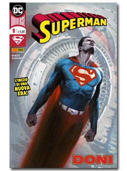 Copertina Superman