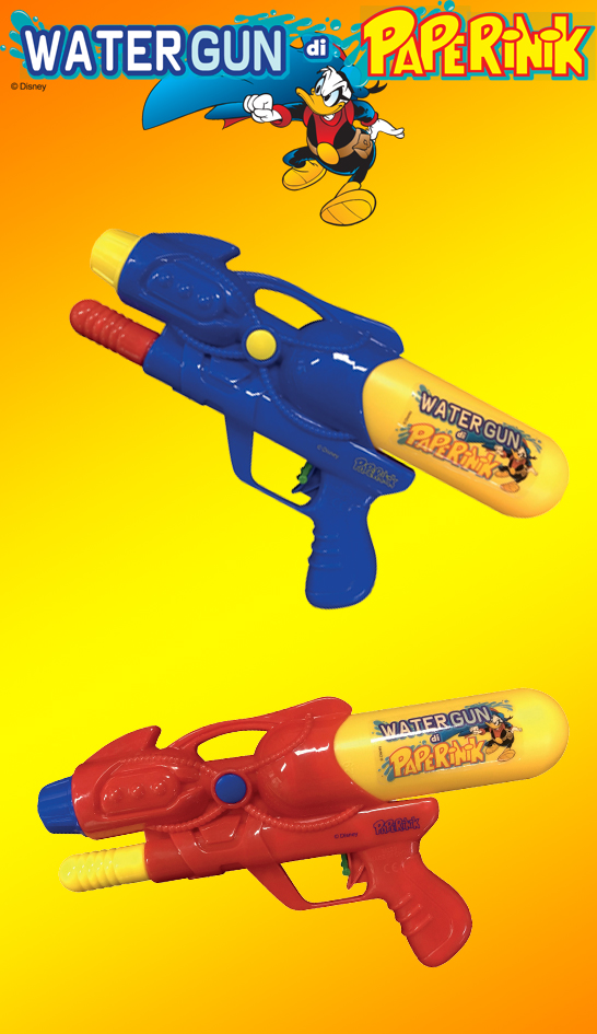 La Watergun di Paperinik