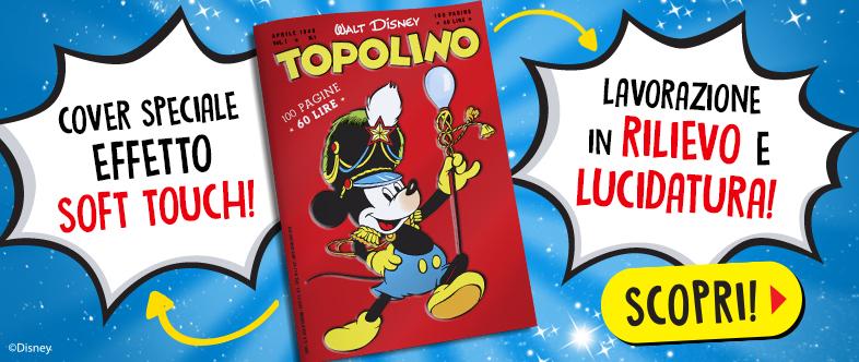 Abbonamento Topolino con la ristampa del primo numero in edizione speciale!