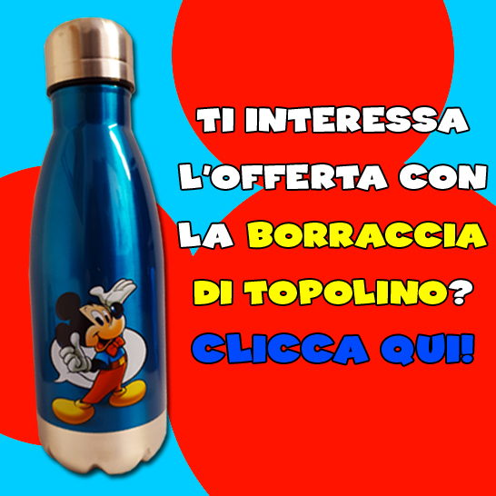 La Topoborraccia di Topolino!