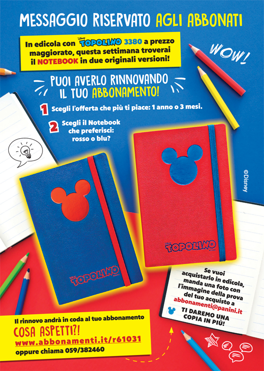 Notebook di Topolino