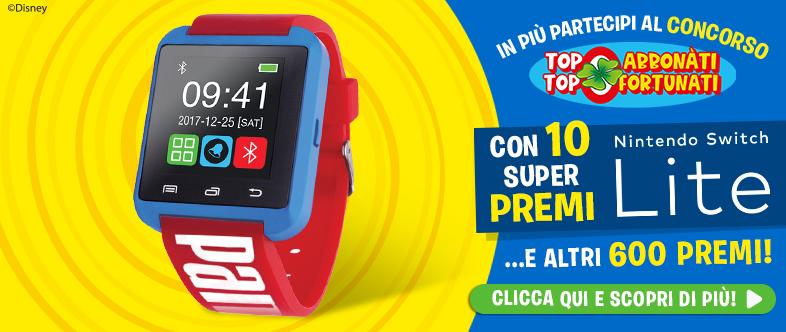 Topolino con smartwatch!