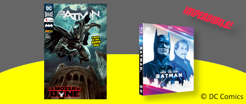 Abbonamento di un anno a Batman con BluRay in ragalo!